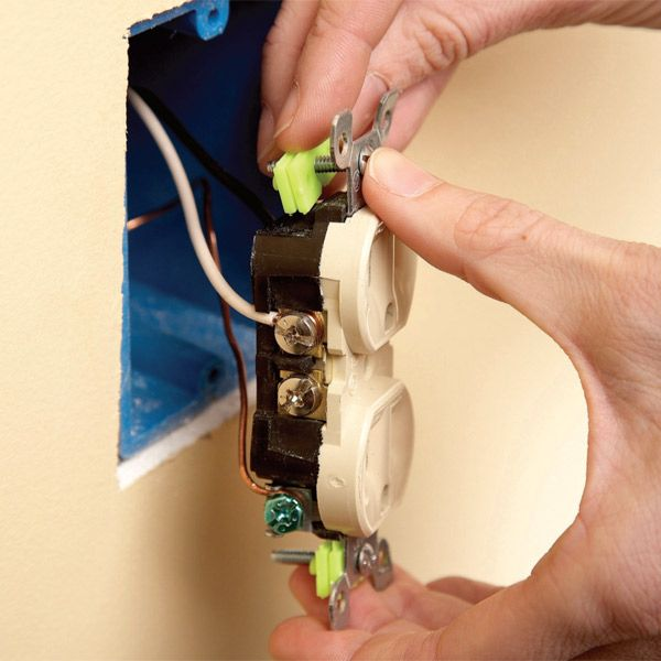 How To Fix Outlet Box:  Safety Outlets and Boxrh:pinterest.com,Design
