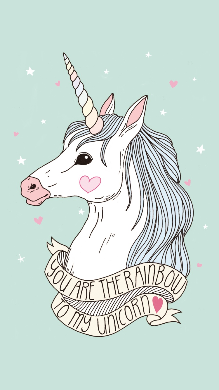 Wallpaper iphone tumblr unicorn - Inspiring Image Fairytale Love Unicorn Wallpaper By Violanta Resolution Find The Image To Your Taste