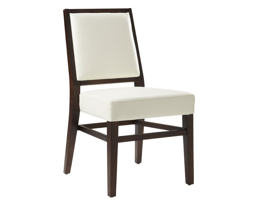 Ivory Leather Dining Room Chairs Prepossessing Luthais Dining Chair White  Products  Pinterest  Products Inspiration Design