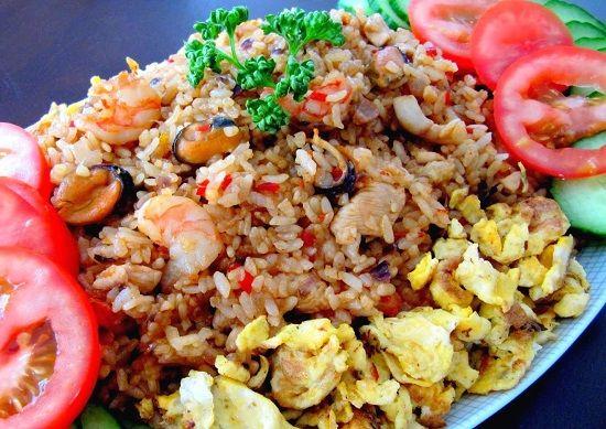 Nasi Goreng Seafood Ala Cina Nasi Goreng Makan Malam Resep