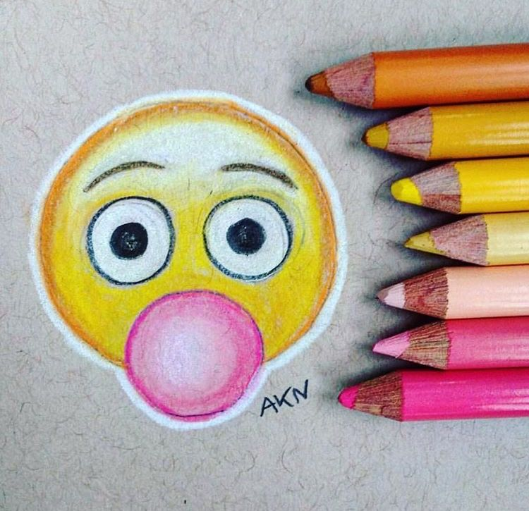 Emojis Drawing Emoji Disegno Arte Disegni A Matita E Disegni