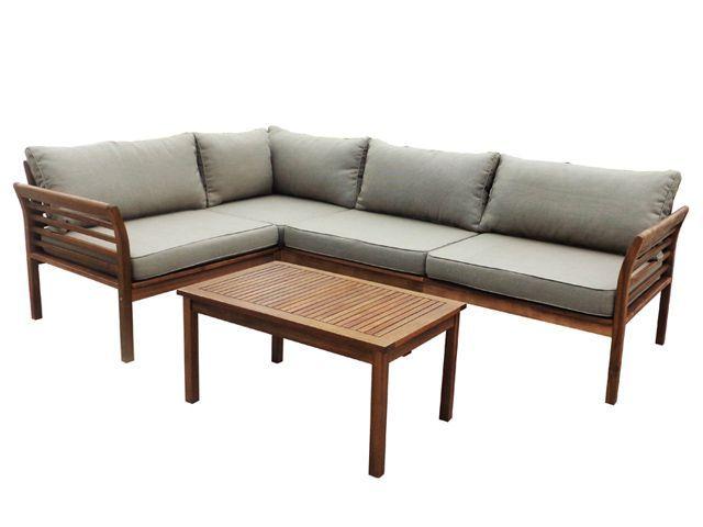 Rinconera madera de acacia hanoi las mejores ofertas de for Ofertas muebles de terraza
