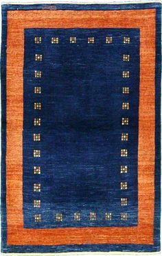 Navy Blue And Orange Area Rugs Google Search Rugs Persian Rug