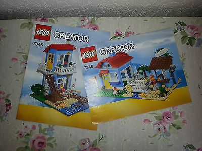 Lego 7346 creator seaside #house  #instructions only  2 x #booklets,  View more on the LINK: 	http://www.zeppy.io/product/gb/2/182144130434/