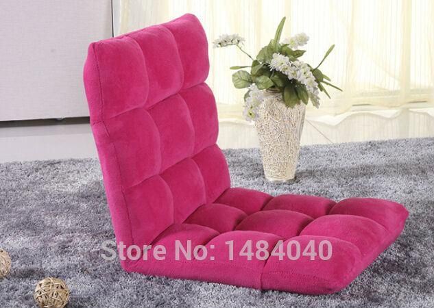 Small sofa beanbag chair single tatami floor windows and pull-out ...