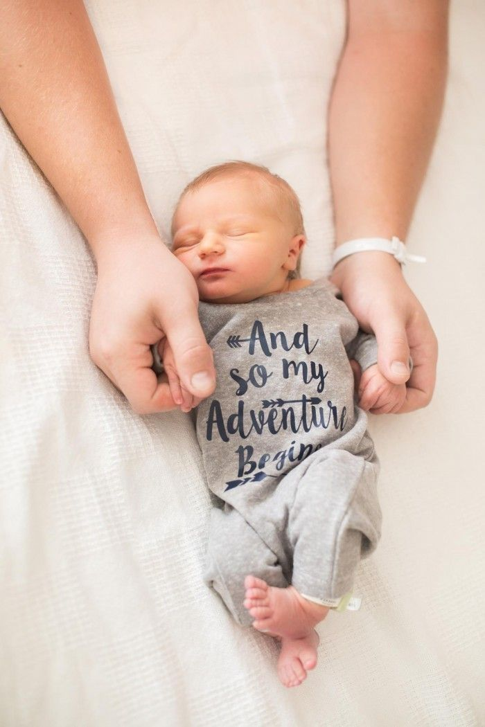 57433e362 Newborn Baby Gown Grey Infant Boy Gown For This Little by KenaBows ...