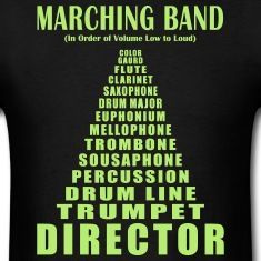 140ccddbad6b3f0346339d9f073dcaaa t shirt band pinterest marching bands, band memes and music humor