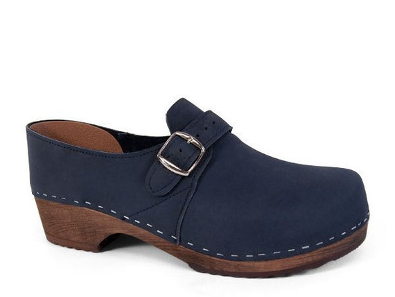 Sandgrens Gunnar Men's Clogs Wood Clogs for Men | Handmade