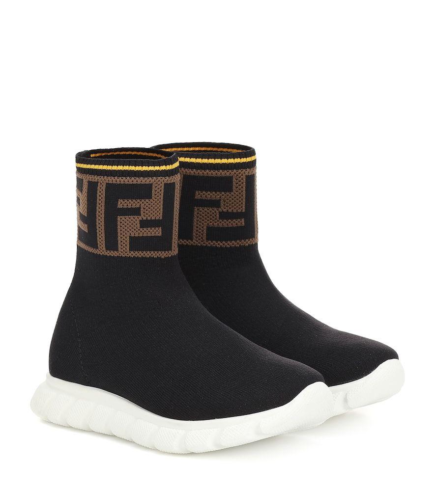 Fendi kids, Socks sneakers, Fendi clothing