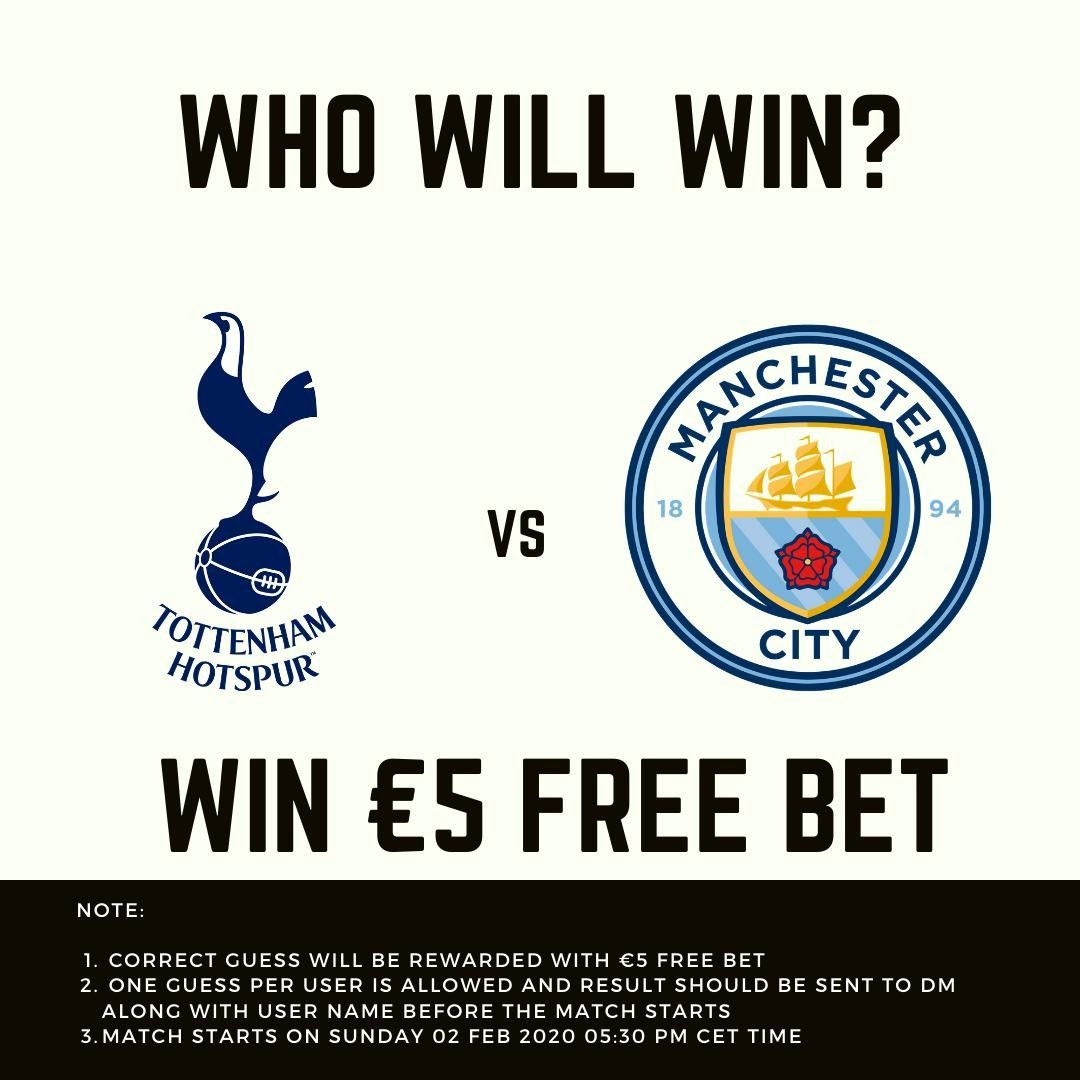 Who Will Win Predict Win 5 Free Bet Note 1 The Correct Guess Will Be Rewarded With 5 Free Bet 2 One Gue Who Will Win Sportsbook Best Casino