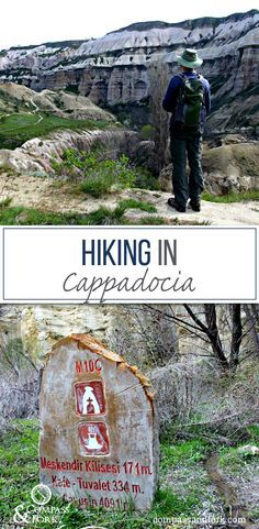 Fantastic Day hiking in Cappadocia (inlcudes a refreshing and healthy recipe for pomegranate and orange juice which is found everywhere in Turkey www.compassandfork.com