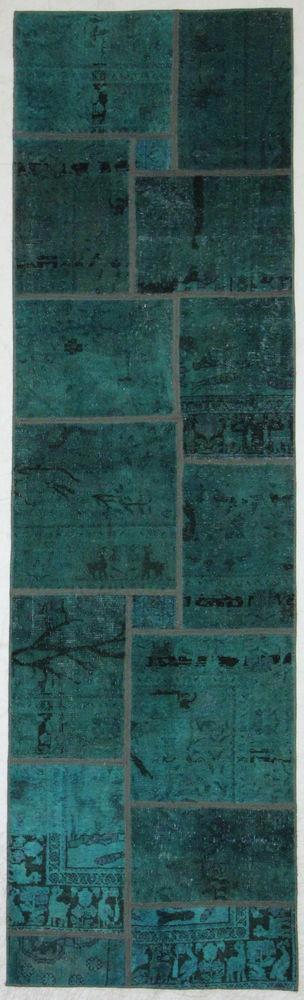 Orientteppich modern  Patchwork Orientteppich modern Handgeknüpft orient preproga 300 x ...
