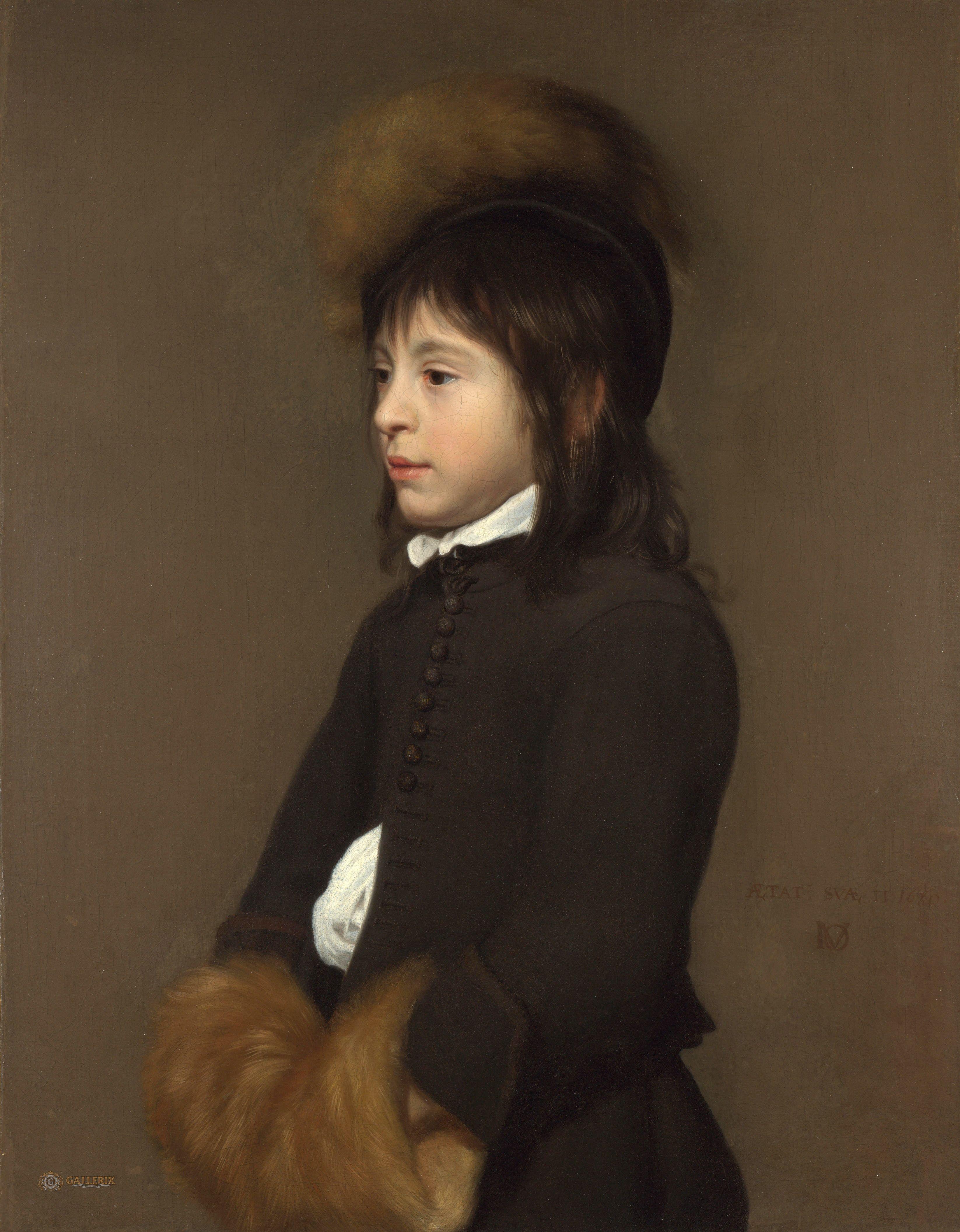 Jacob van Oost the Elder - Portrait of a Boy aged 11