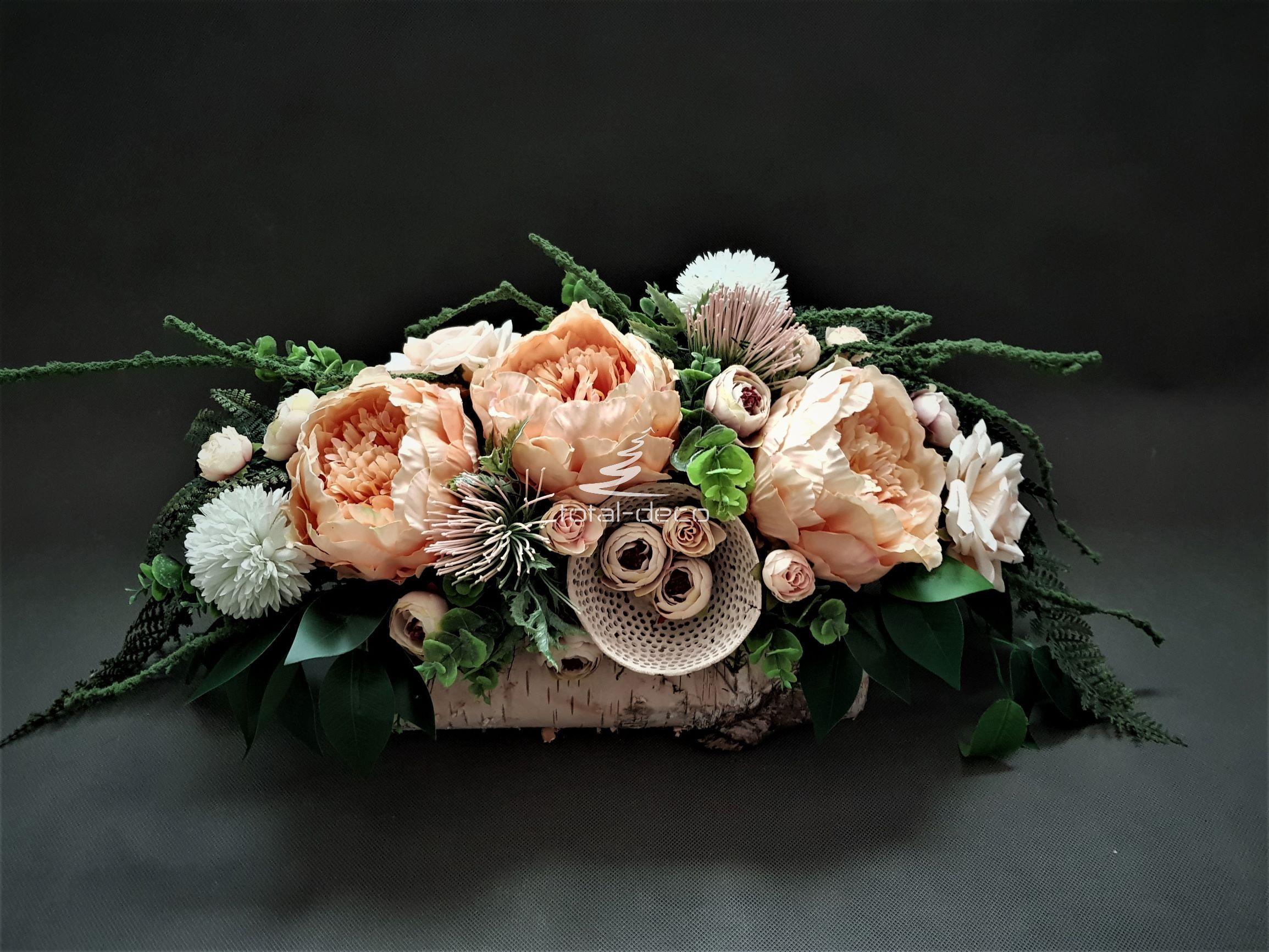 Stroik Na Cmentarz Nowoczesne Dekoracje Na Wszystkich Swietych Floral Wreath Flowers Floral