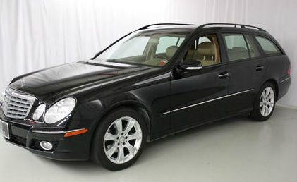 2009 Black Mercedes Benz Station Wagon I Don T Want Anything