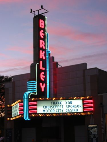 Berkley Theater It Is No Longer A Theater But The City Of