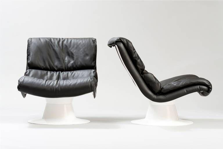 1960s Leather sofa