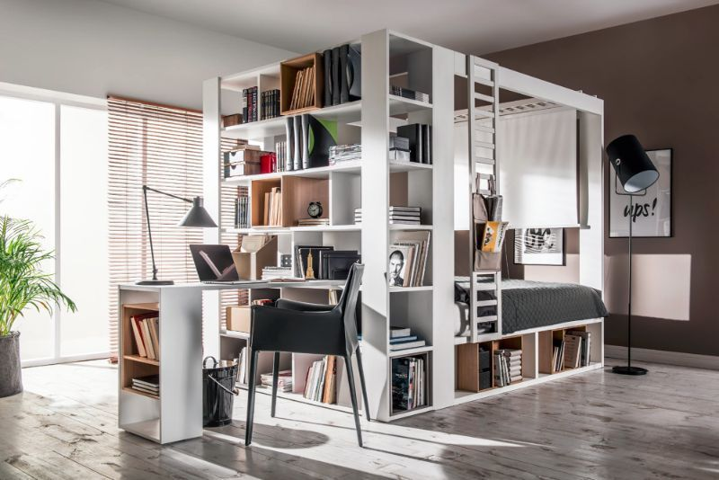 This Cool Storage Bed Can Be Turned, Cool Storage Furniture