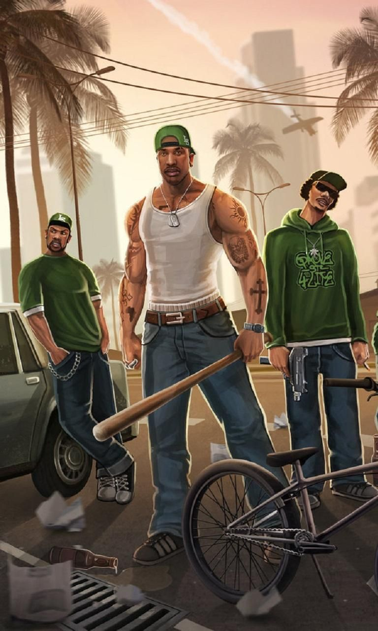 Gta San Andreas Wallpaper Iphone