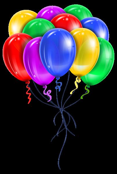 Transparent Multi Color Balloons Png Picture Clipart Nadpisi S Dnem Rozhdeniya Vozdushnye Shary S Dnem Rozhdeniya