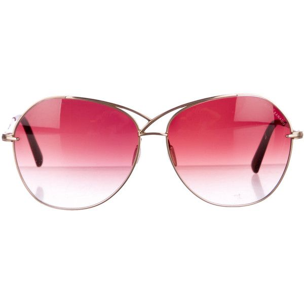 78cb945e61 Pre-owned Dita Xanadu Sunglasses ( 125) ❤ liked on Polyvore featuring  accessories