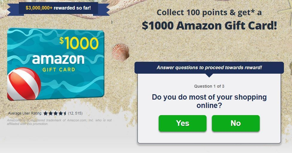 1000 Amazon Gift Card Go Crazy And Shop On Amazon With This 1000 Gift Card Take A Fun Survey For Just A Few Minutes Amazon Gifts Amazon Gift Cards Gift Card