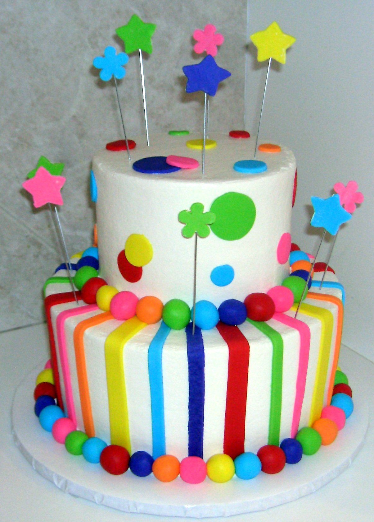 Colorful Birthday Cake Recipes