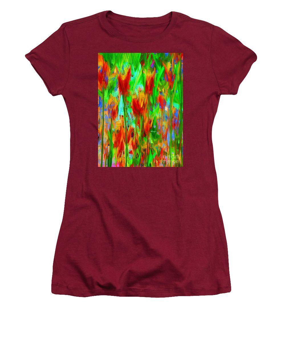 Women's T-Shirt (Junior Cut) - Wild Flowers