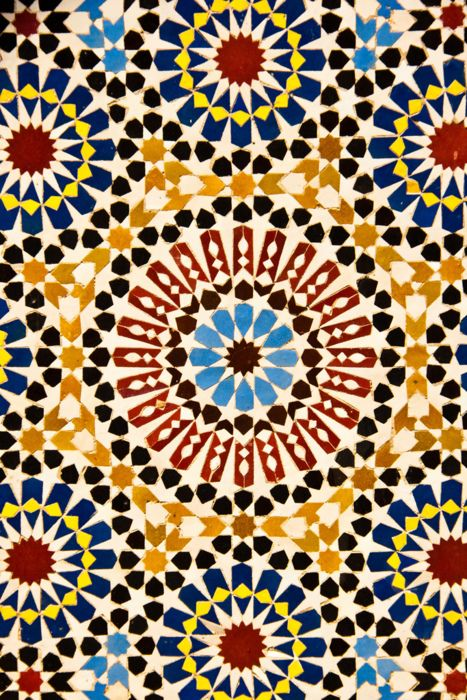 Reminds Me Of Spanish Tile Work