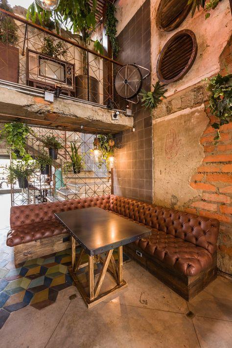 Pin de graci en muebles en 2019 bares dise o decorar for Diseno de apartamentos industriales