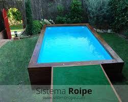Resultado de imagem para piscinas elevadas obra casa - Piscinas elevadas de obra ...