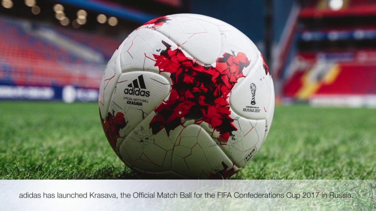 hipoteca vitamina Chaise longue  adidias Krasava FIFA Confederations Cup Official Match Soccer Ball ...