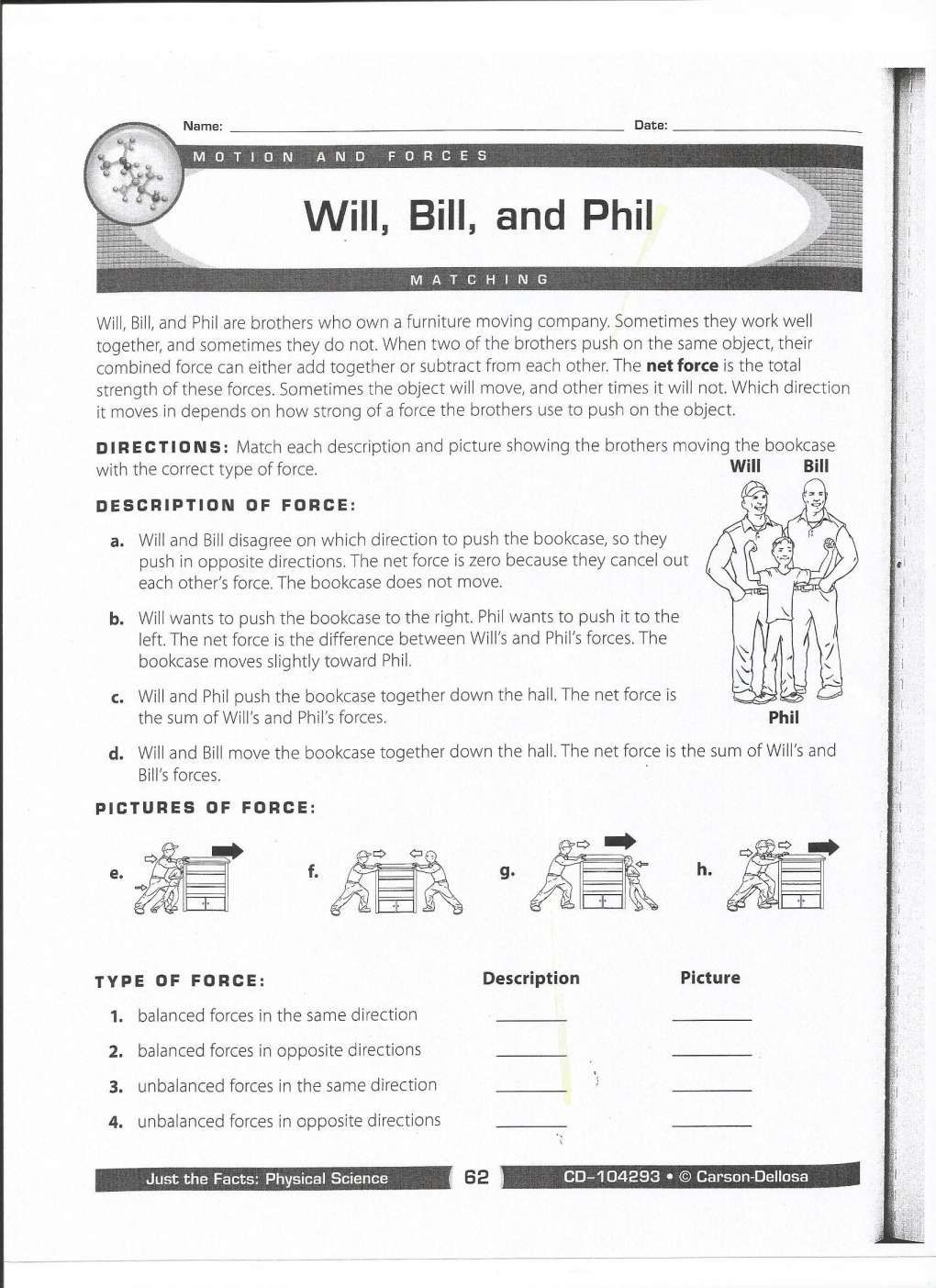 17 Force And Motion Worksheets 3rd Grade In 2020 Force And Motion Scientific Method Worksheet Printable Worksheets