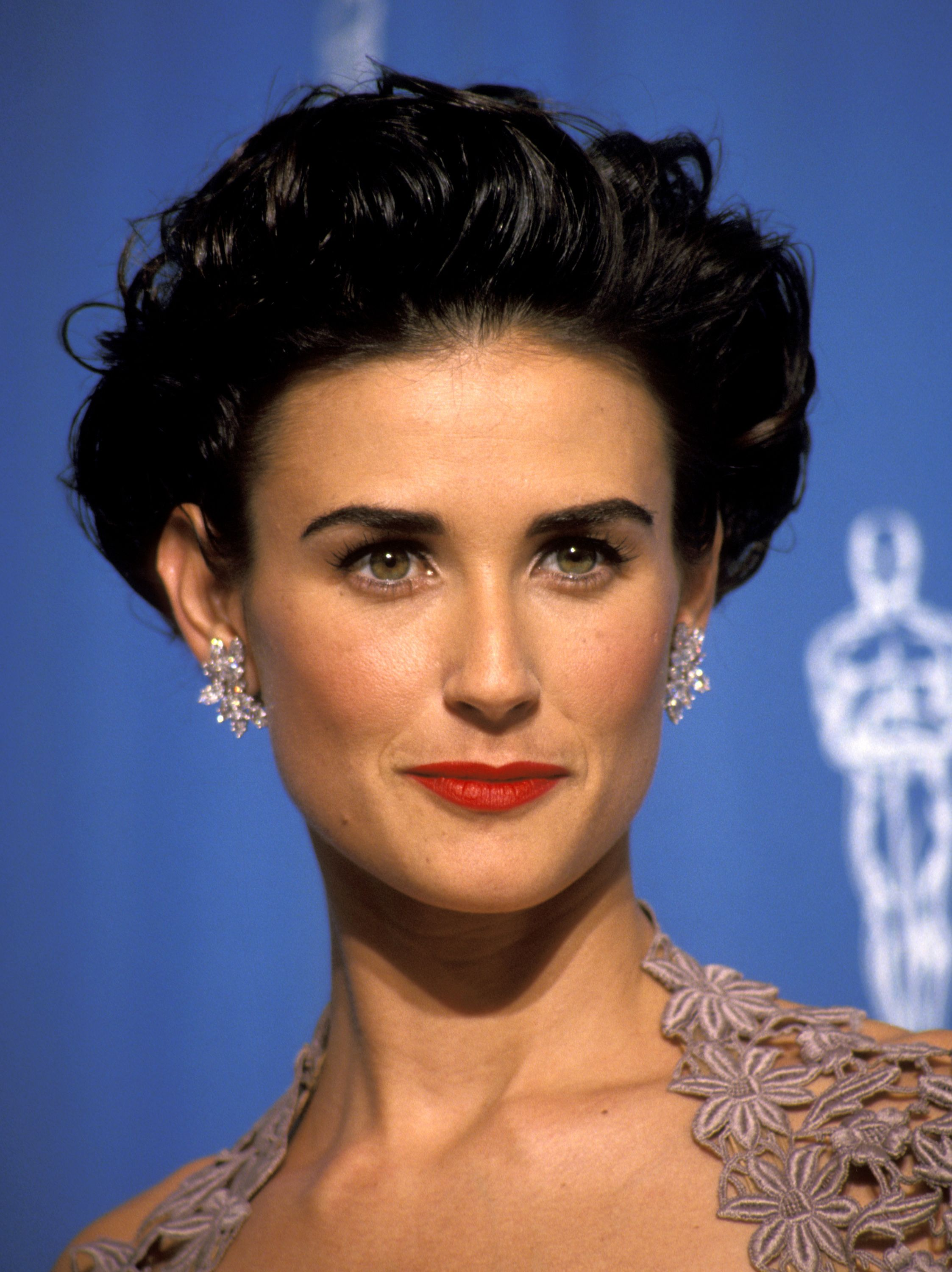 Demi Moore 1992 I Had My Haircut Just Like This Because Of The