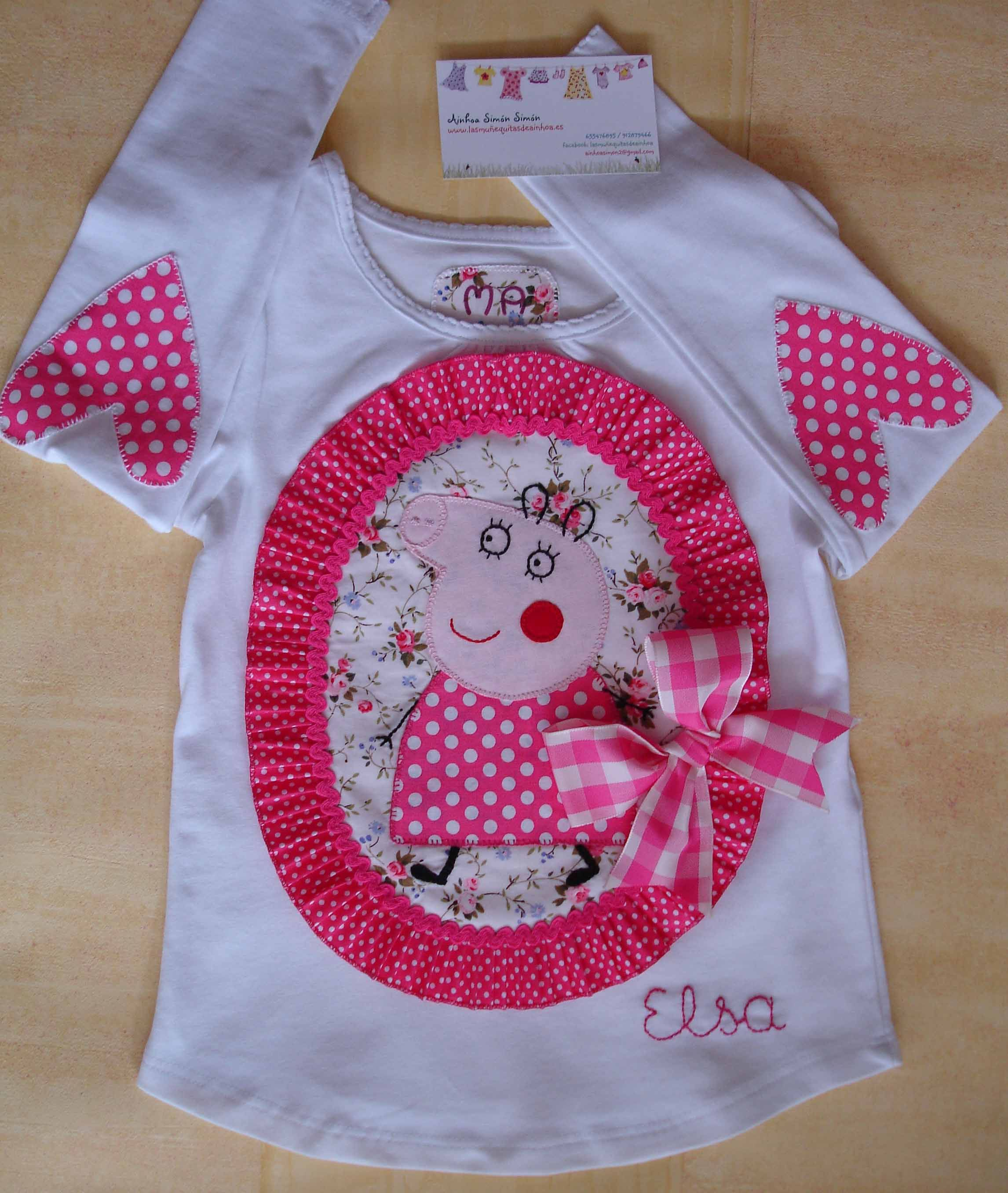 camiseta peppa pig applique ideas pinterest applique tutorial