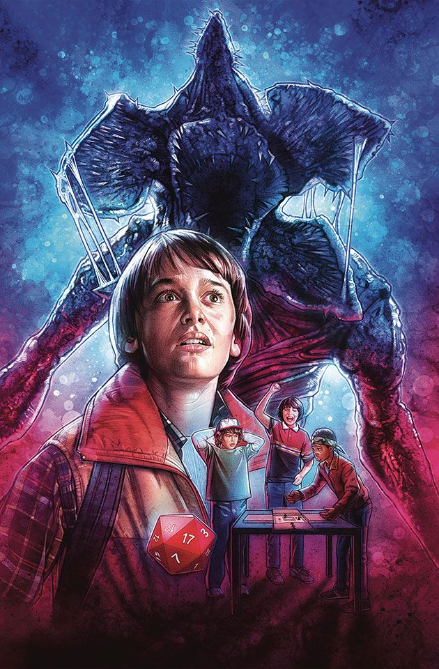 Stranger Things #1-4 Complete Cover Checklist