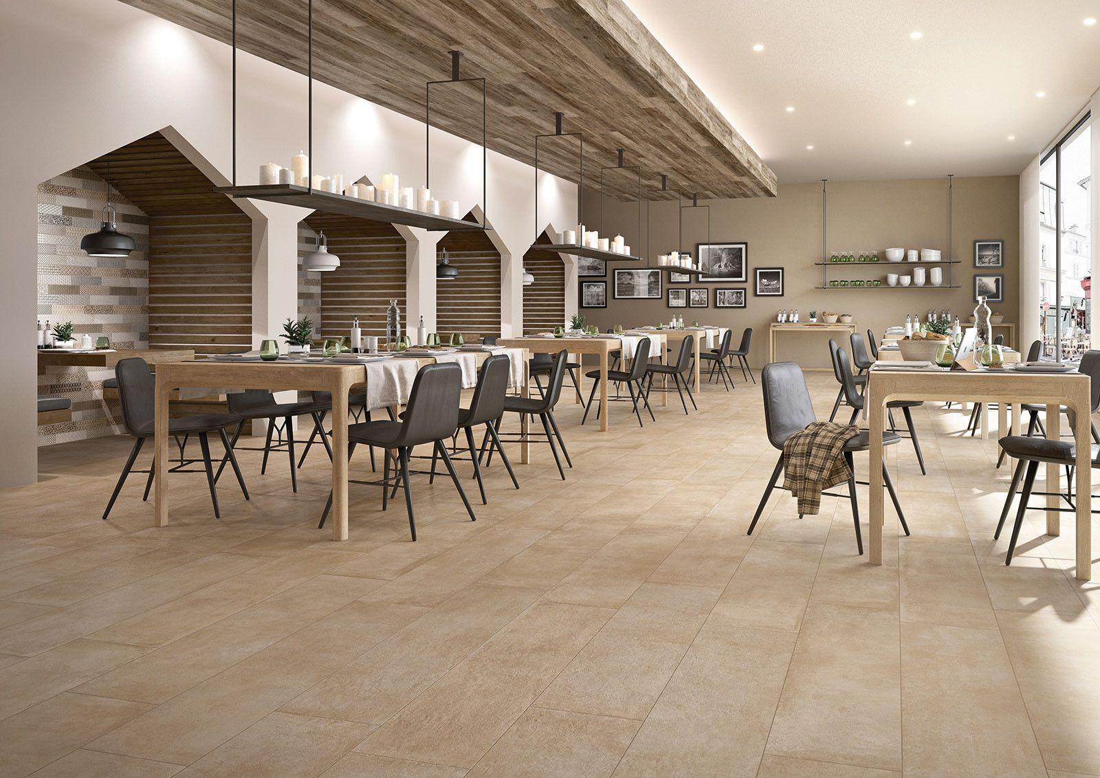 Marazzi Clays Sand X Cm MMR Feinsteinzeug Steinoptik - Fliesen für restaurant küche