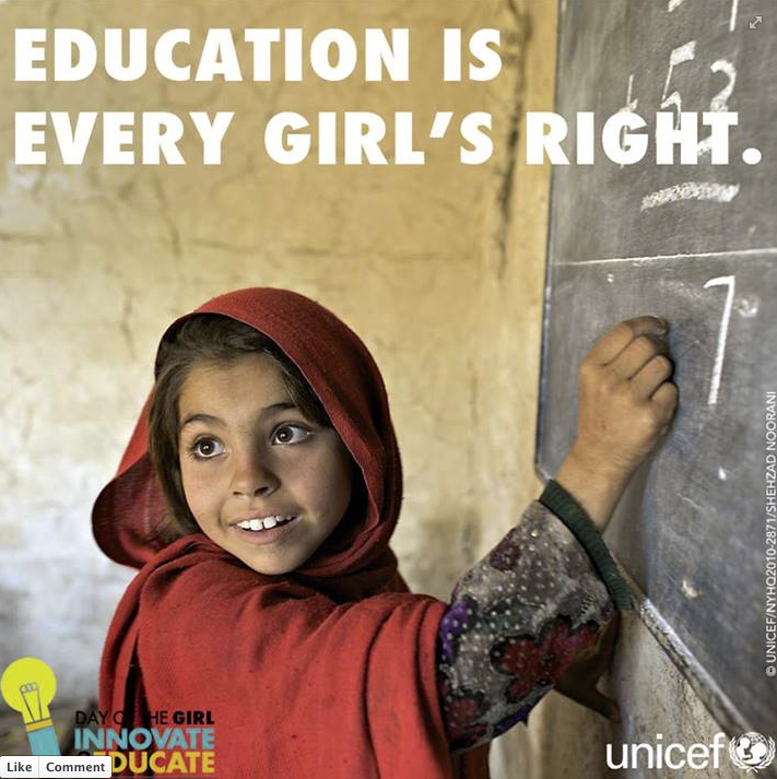 Celebrate International Day of the Girl by sharing this UN