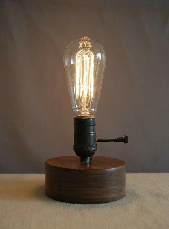 Inspirational Edison Light Bulb Table Lamp