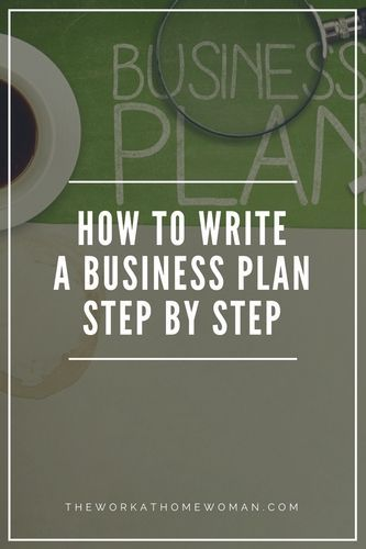 How To Write A Business Plan Step By Step  Business Planning