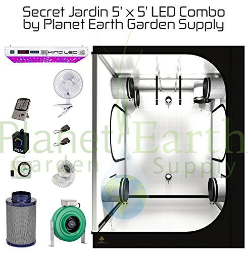 Secret Jardin Grow Tent (5u0027 x 5u0027) LED Combo Package #6  sc 1 st  Pinterest & Secret Jardin Grow Tent (5u0027 x 5u0027) LED Combo Package #6 | Grow Room ...