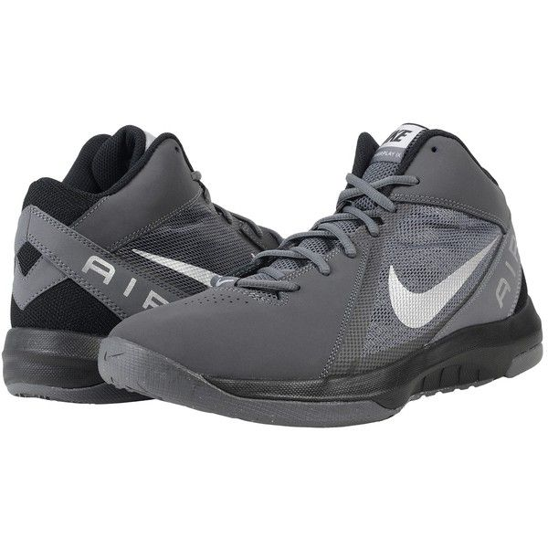 Popular Mens Athletic Shoes - Nike The Air Overplay Ix Nbk Dark Grey/Black/Metallic Silver