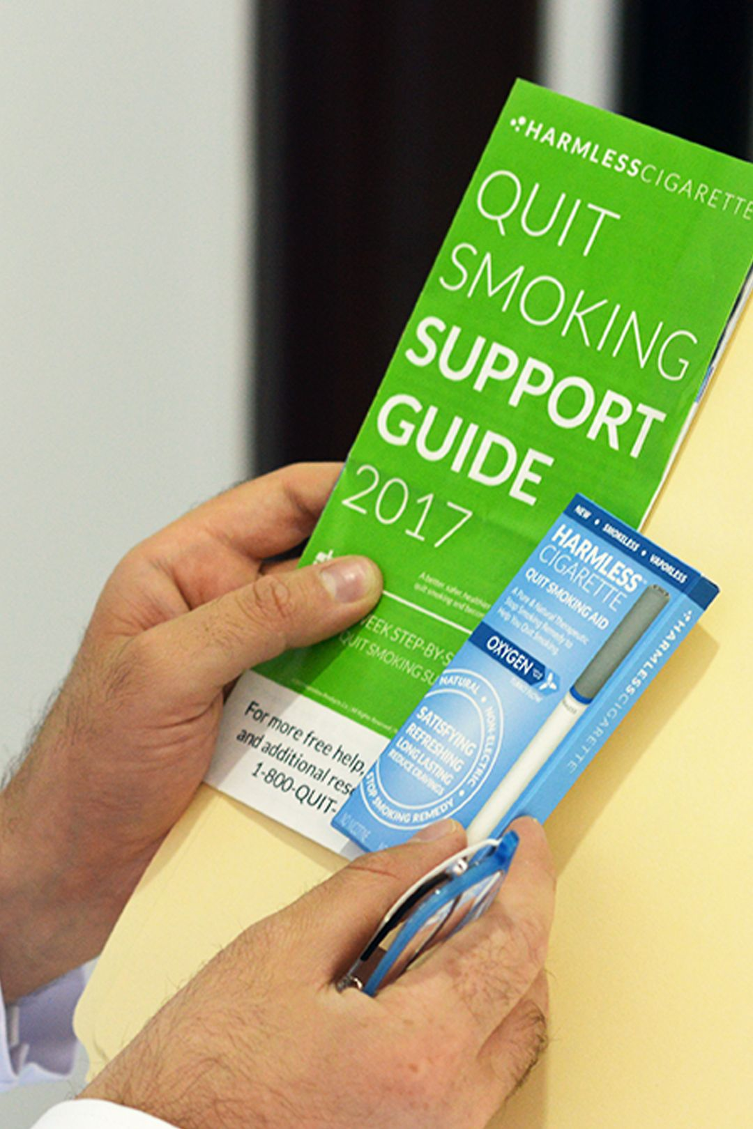 Pin on 1 Natural Quit Smoking Aid / Harmless Cigarette