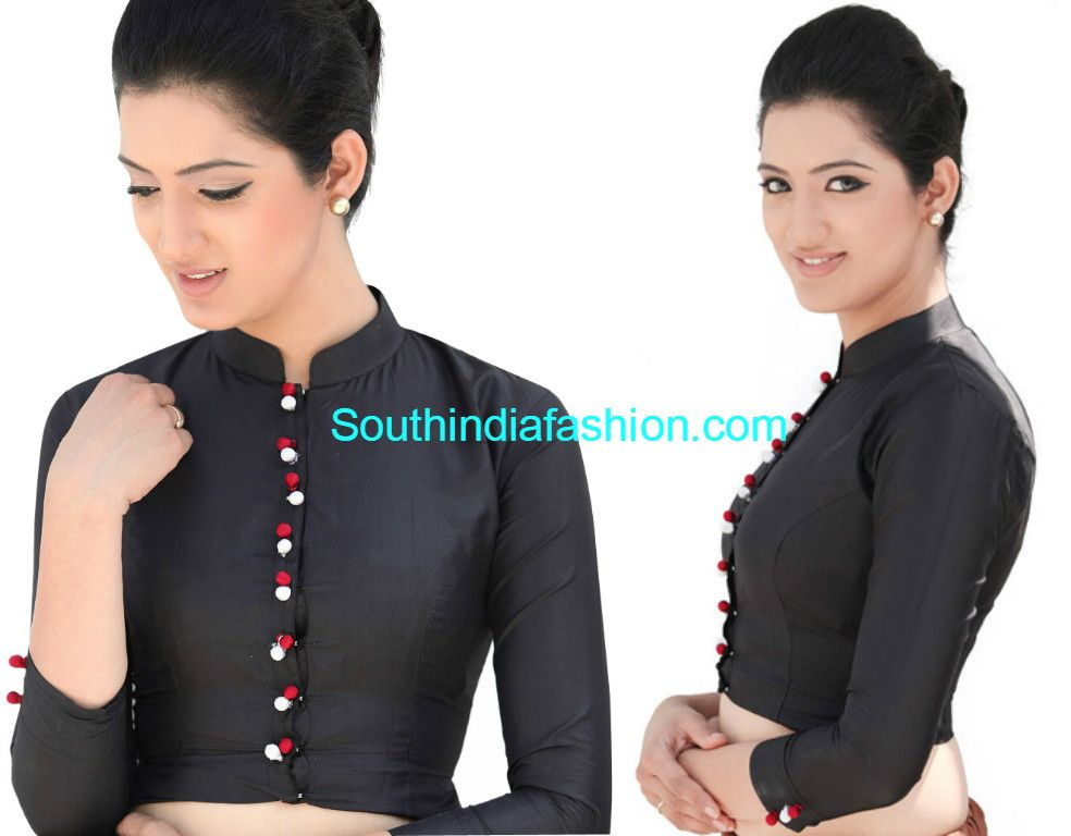 Formal Saree Blouse Designs Blouse Designs For Office Wear Sarees Saree Jacket Designs Formal Saree Formal Blouses