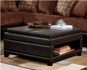Signature Design By Ashley Cody Brown Ottoman With Storage 4 Flip