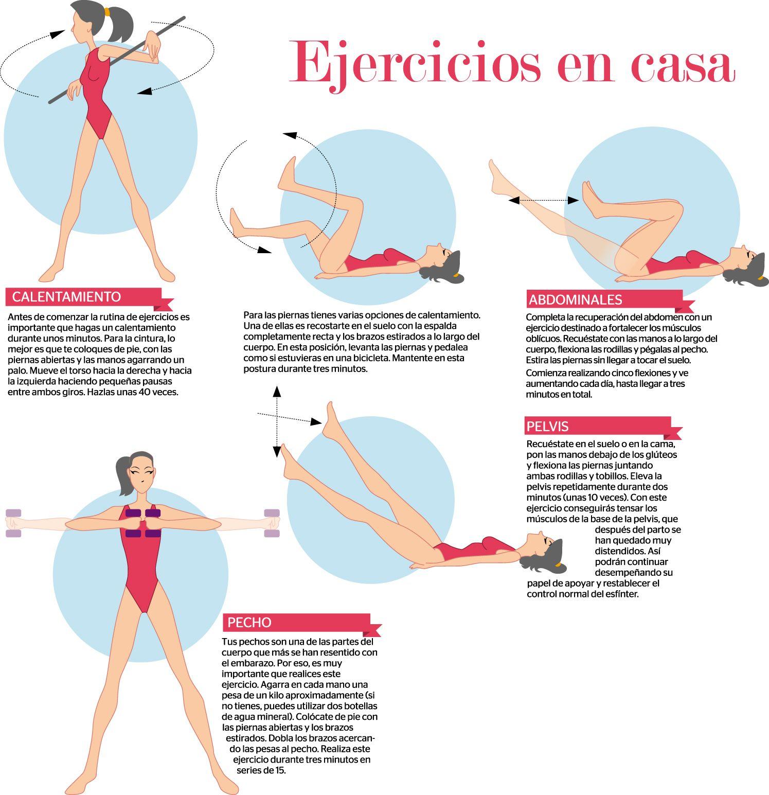 Los Mejores Ejercicios Para Bajardepeso En Casa Ejerciciosencasa Ejercicio Ejerciciosfáciles Fun Workouts Fitness Body Fitness Training