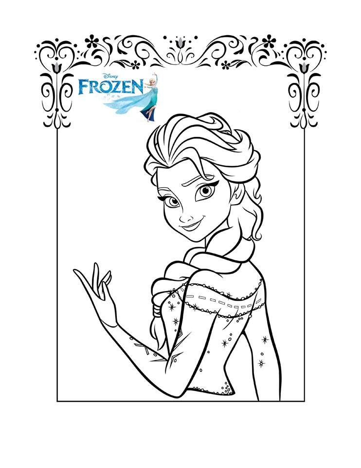 Karlar Ulkesi Boyama Sayfalari Elsa Boyama Sayfalari Boyama Sayfalari Elsa Frozen
