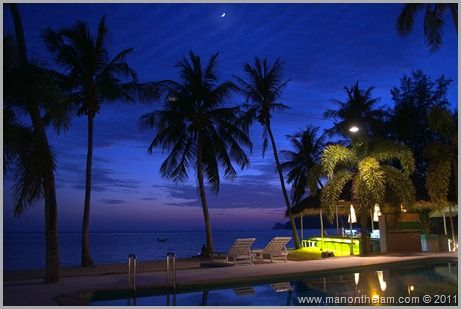 Lime 'n Soda Beachfront Resort just outside Thongsala, Koh Phangan.