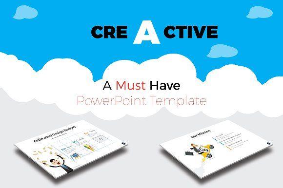 Creactive Presentation Template By Greendesign On Creativemarket