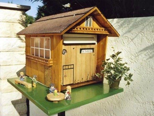 objets boites aux lettres originales boite a lettre pinterest boite a lettre bo te aux. Black Bedroom Furniture Sets. Home Design Ideas